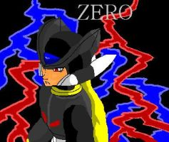 Black Megaman Zero by zero-club