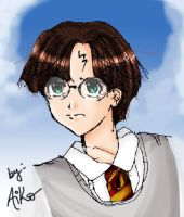 Harry Potter by aiko19th