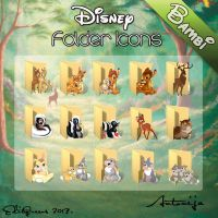 Disney Folder Icons - Bambi by EditQeens