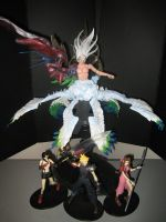 Safer Sephiroth Play Arts 3 by neoarchangemon