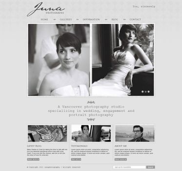 Photography website by badmister