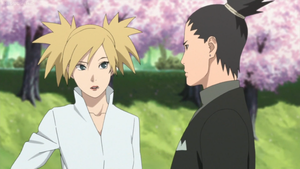 Shikamaru and Temari As A Couple by weissdrum