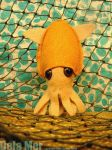 Plush baby squid by Ananda-Deja