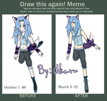 Before and After meme by Mi-e-ru