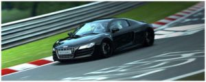 Audi R8 in Green Hell 6 by 1R3bor