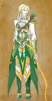 Sigyn's Battle Outfit by lovelyArtisan
