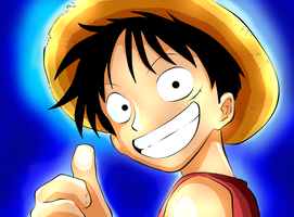 Luffy - awesome by CherryInTheSun