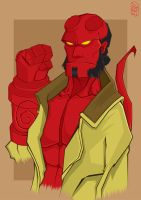 HellBoy by GHussain