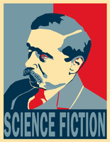 HG Wells Poster by Party9999999