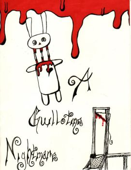 Decapitation Bunny Card 1 by Fayde2Memory