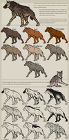 Hyena Dog Reference CLOSED WHILE UPDATING by DisenchantedKennels