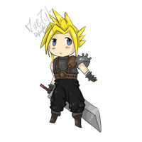 Chibi Cloud by DireTylo