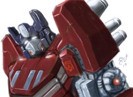 Speed Paint Optimus by shaotemp