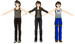 MMD Alex from Marble hornets DL by chickid11