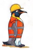 Protected Penguin by IcebergLonely