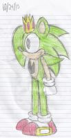 Arthur the Hedgehog Ref. Side View by Sonicdude645
