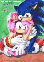 Amy's Dream 'SonAmy' by MiyaToriaka