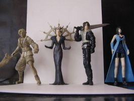 Final Fantasy 8 customs by Iaaaaaaaaaan