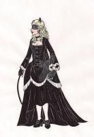Old-Style Catwoman by 13foxywolf666