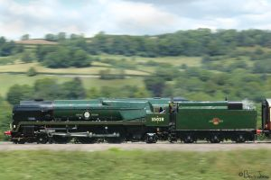 Clan Line at Speed by bigben5051