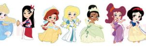 Disney princess and more by SiliceB