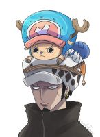 Chopper and Traf by angelchan27