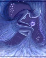 .Fantasy in Blue. by pasiphae