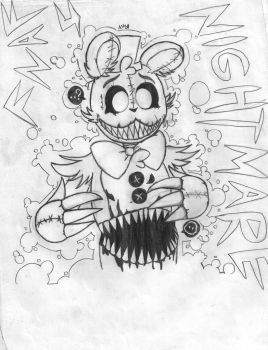 Nightmare (FNaF) by Natirchana12