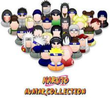 Naruto MSN Avatar Collection by Chrispynutt
