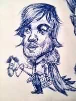 Tyrion Lannister - Caricature by Alisssvic
