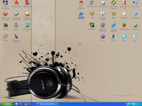 Desktop V by Syki