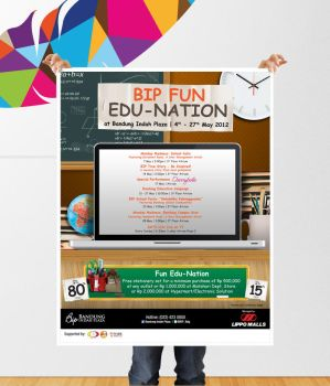 Bandung Indah Plaza | BIP FUN EDU-NATION by gerysisiput