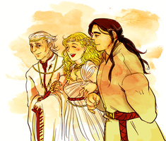 Nargothrond triangle by jubah