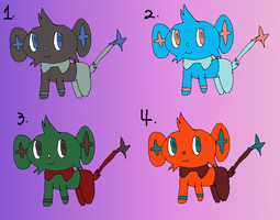 Shinx Point Adoptables -Open- by LadyDelaisol