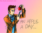 an Apple a day... by the-ChooK