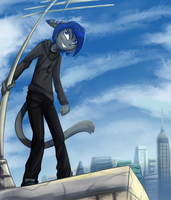 on the roof by Ripli2011