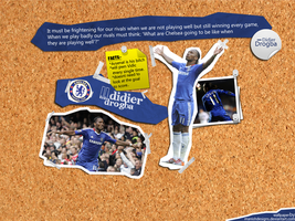 Didier Drogbaa by manishdesigns