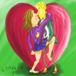Draco and Hermione in Love by ComicsNix
