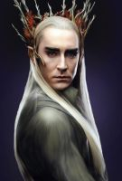 Thranduil of Mirkwood by Nadia-Ch