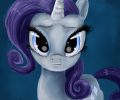 Rarity is blue by PinkisPractical