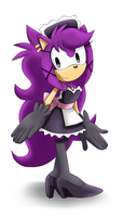 AT:Domestic the Hedgehog by Unichrome-uni