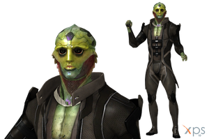 ME3 Thane Krios for XPS by Just-Jasper