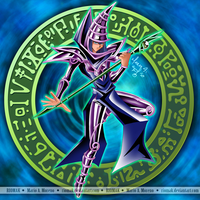 Dark Magician - Purple by Riomak
