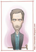Hugh Laurie by Ferlancer