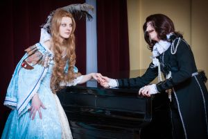 Queen Anne and the Duke of Buckingham. by AhrimanFox