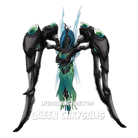 The Legend of Harmony - Boss Queen Chrysalis by Hellbeholder