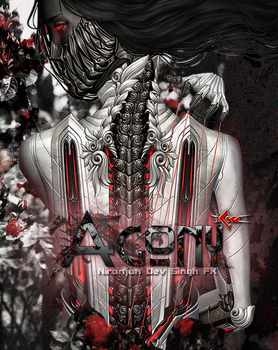 Agony Poster for ICW by nir4vir