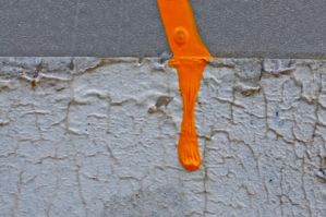 Wet or dry paint by AMITSHITA