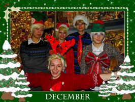December - Hetalia Cosplay Calandar Project by caught-the-doodlebug