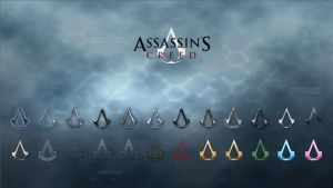 Assassins Creed 24 Icon pack by Ryuhoshi7
